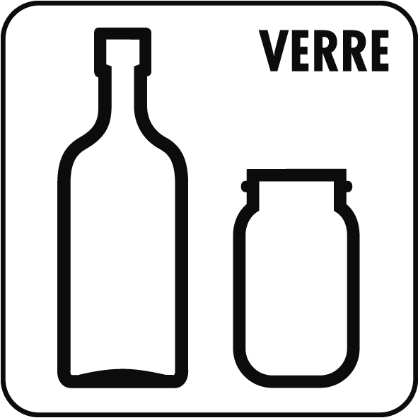Pictogramme verre
