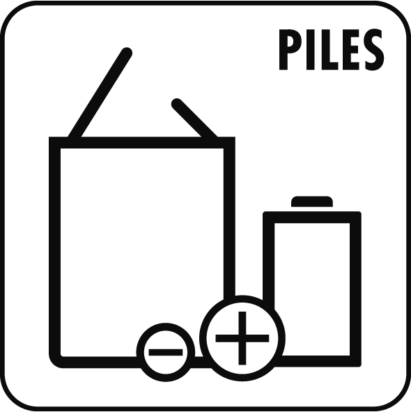 Pictogramme Piles