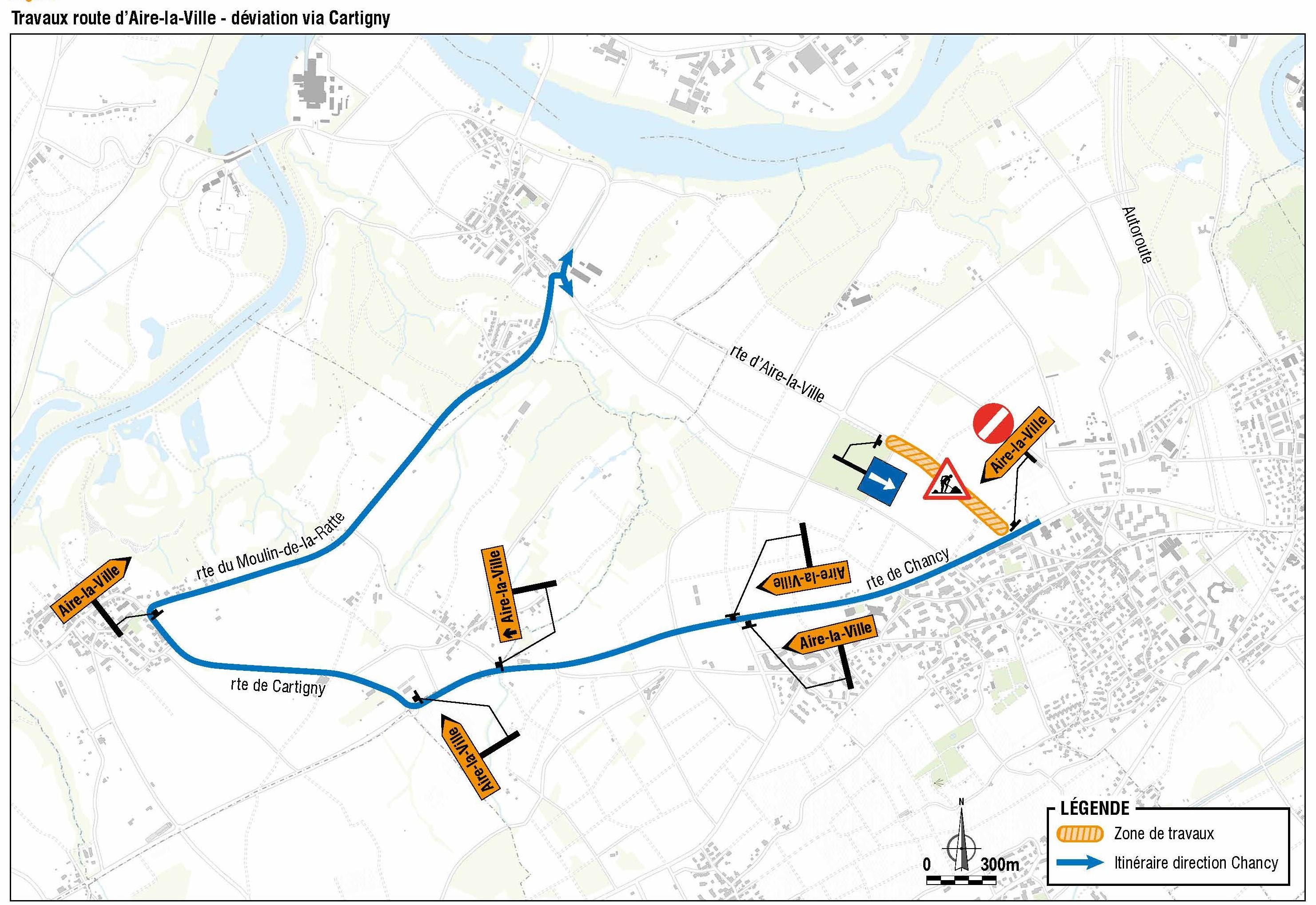 Route d'Aire-la-Ville