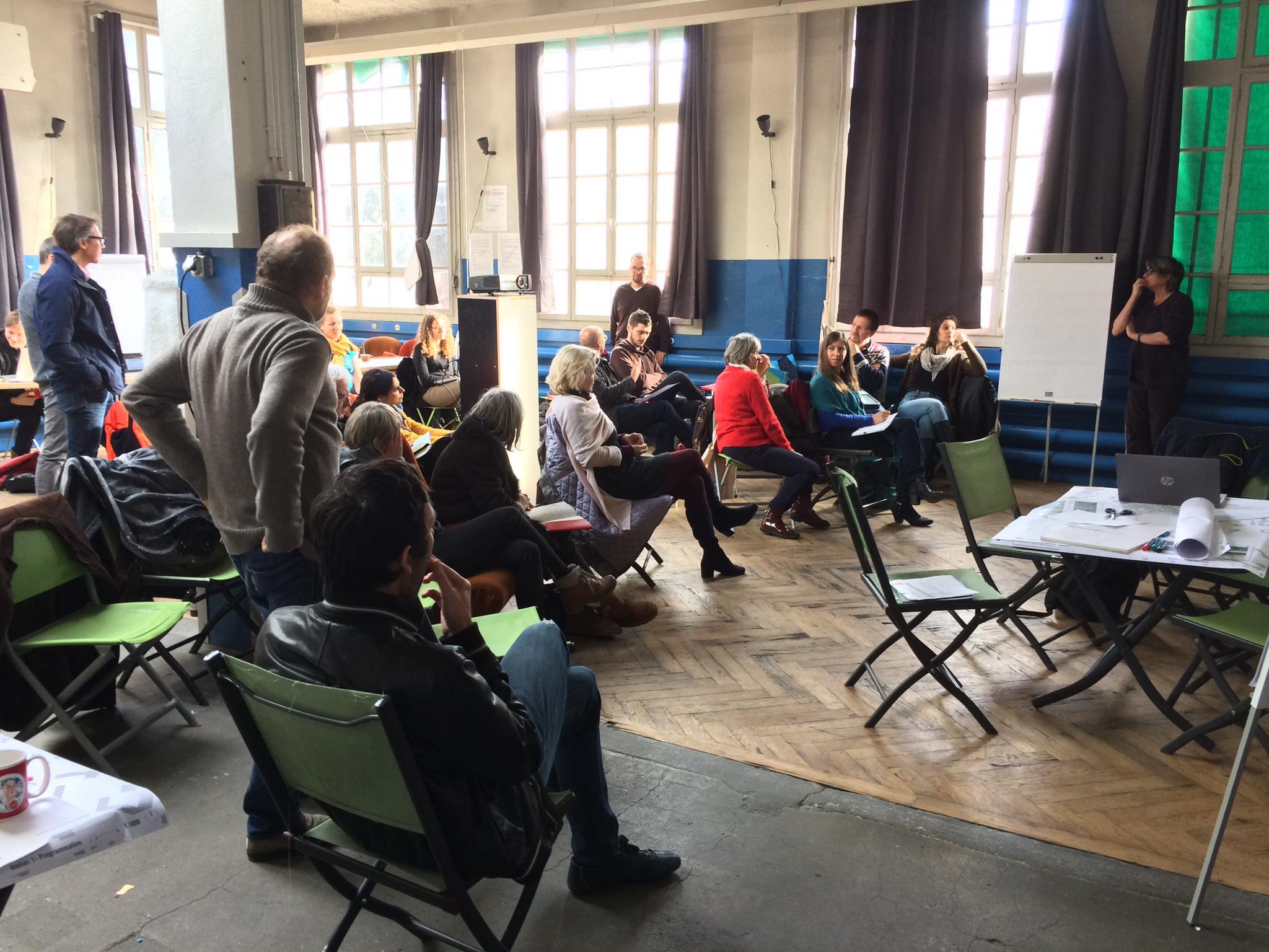 Forum Grosselin - Atelier participatif