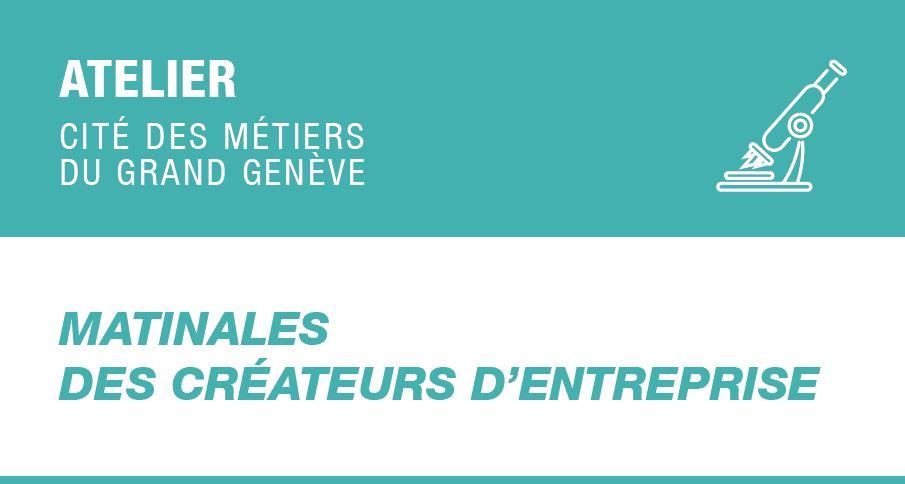 Matinales des créateurs d'entreprises (juin 2020) - ANNULE