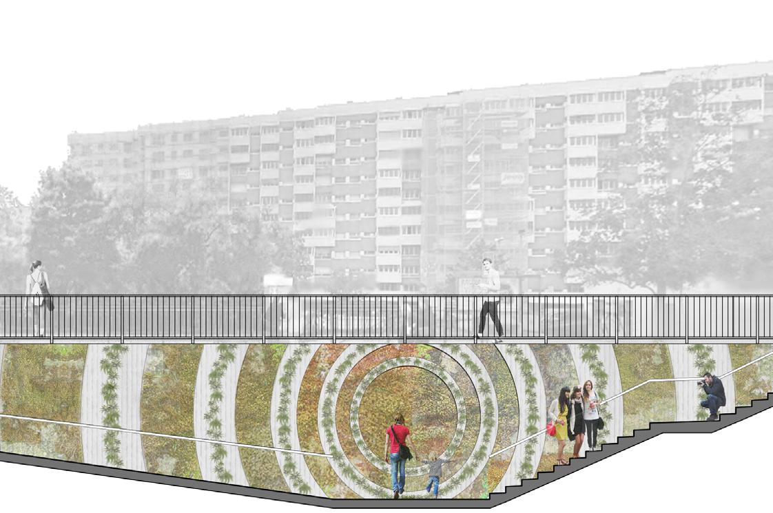 Restauration du passage sous-voie de l'avenue de l'Ain - Inauguration
