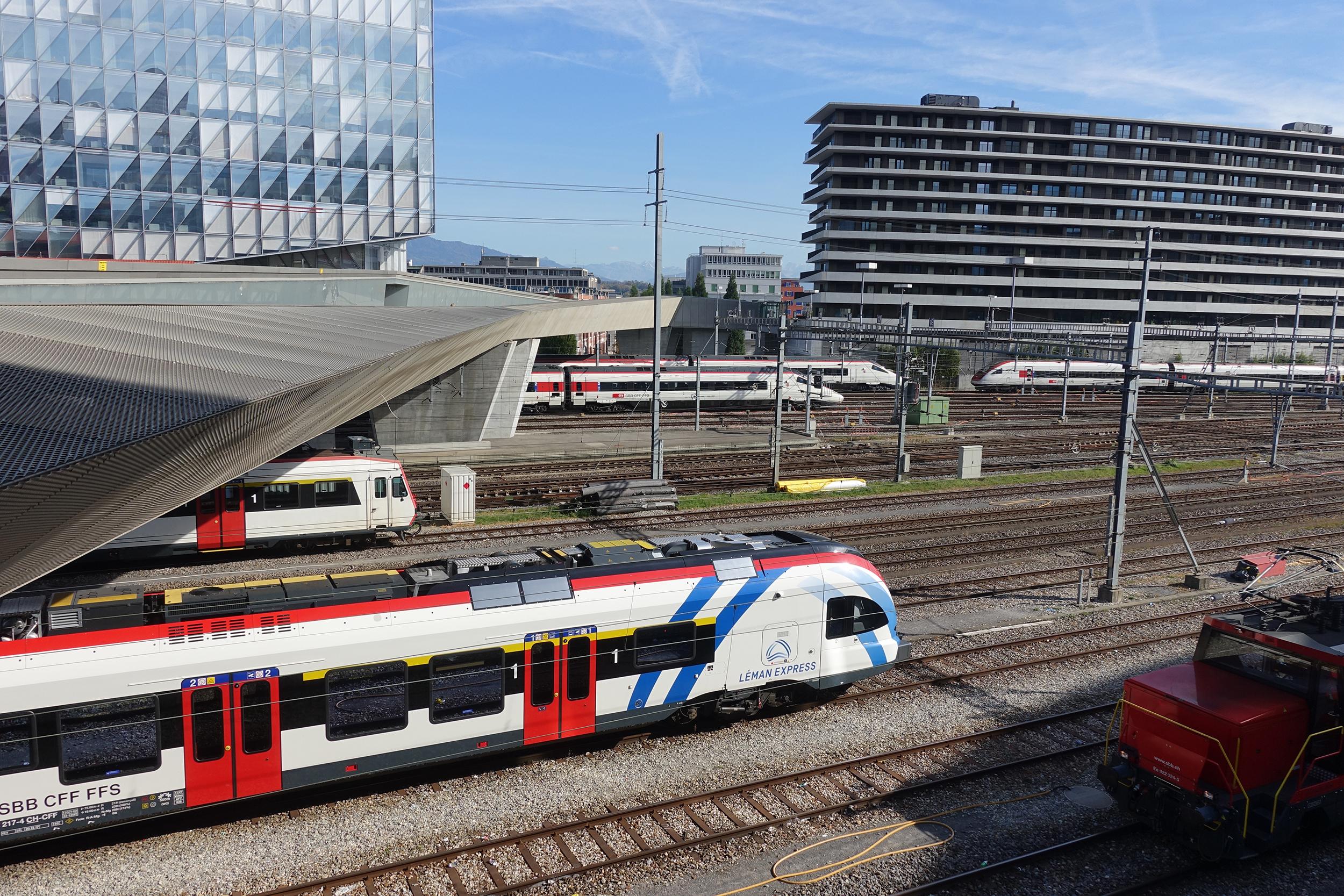 Séance publique Léman Express - Genève rive droite