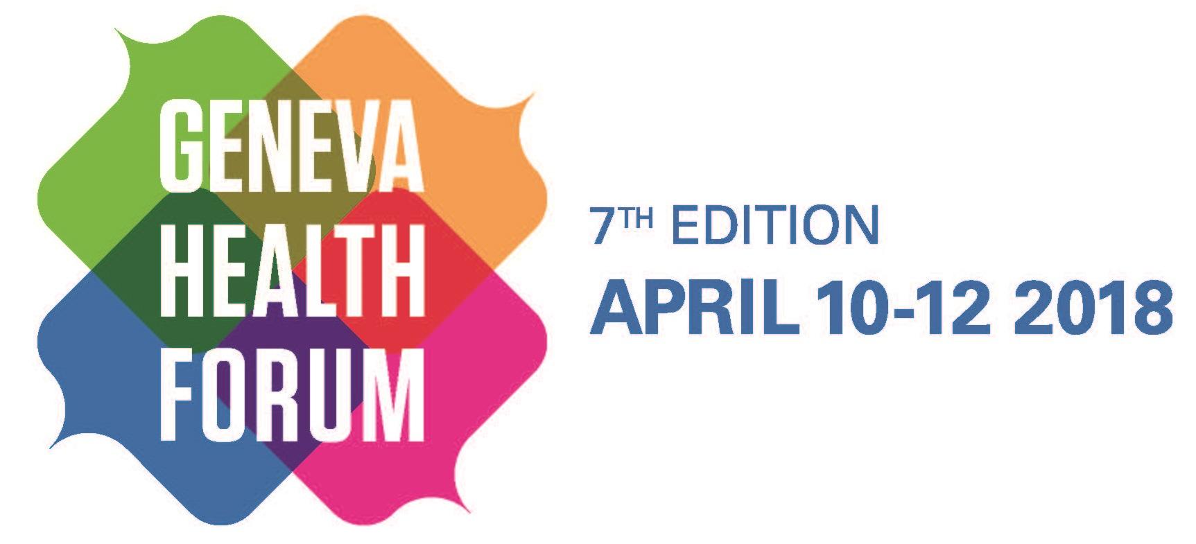Geneva Health Forum : le forum des pratiques innovantes en santé globale