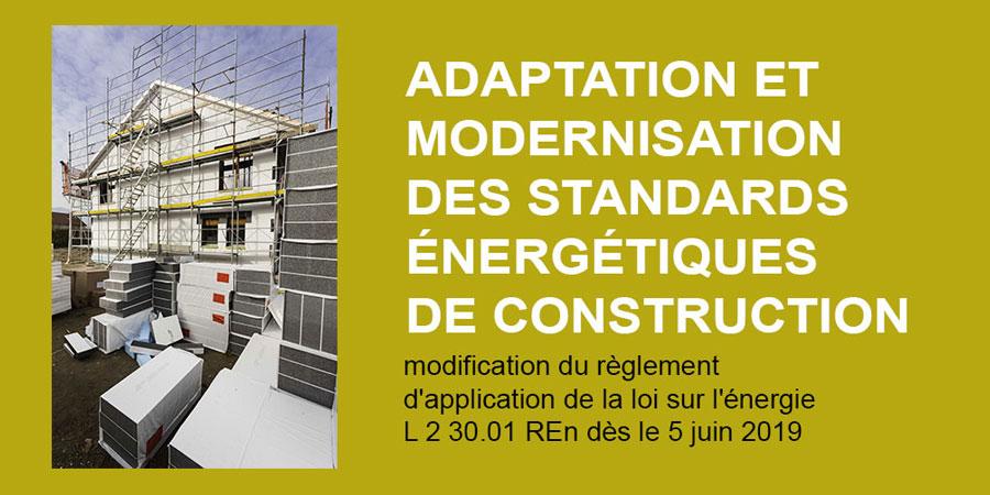 Retour sur les modifications réglementaires d'application de la loi sur l'énergie