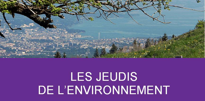 Les Jeudis de l'environnement - Forum
