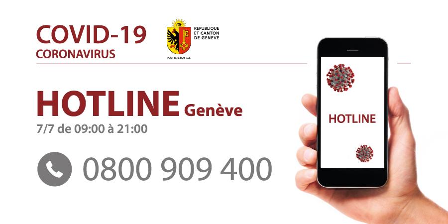 Hotline Coronavirus Geneve