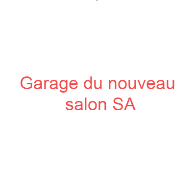 Garage du nouveau salon SA