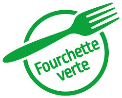 label fourchette verte