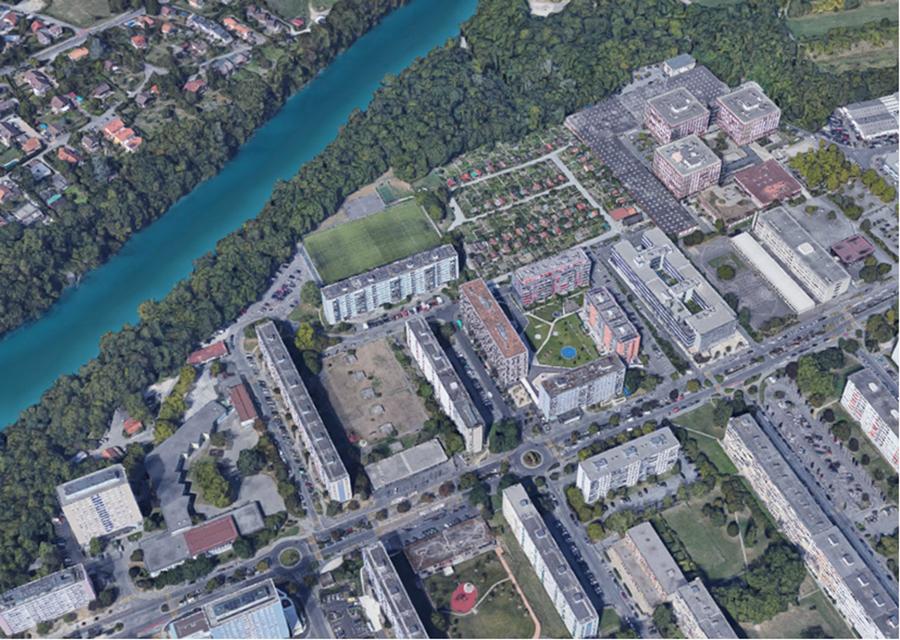 Projet urbain Les Moraines du Rhône à Onex