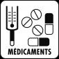 Pictogramme medicaments