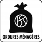 Pictogramme ordures menageres