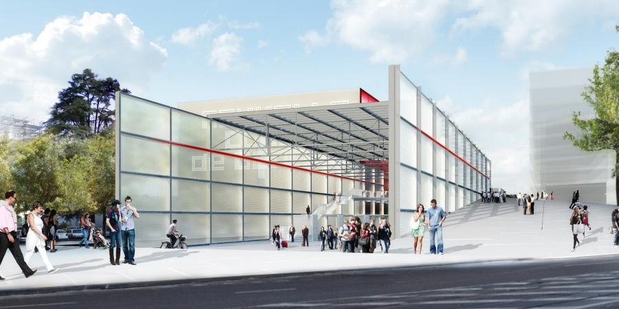 Gare Léman Express des Eaux-Vives