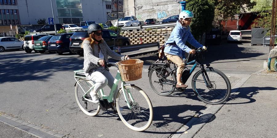 Circuler à vélo électrique
