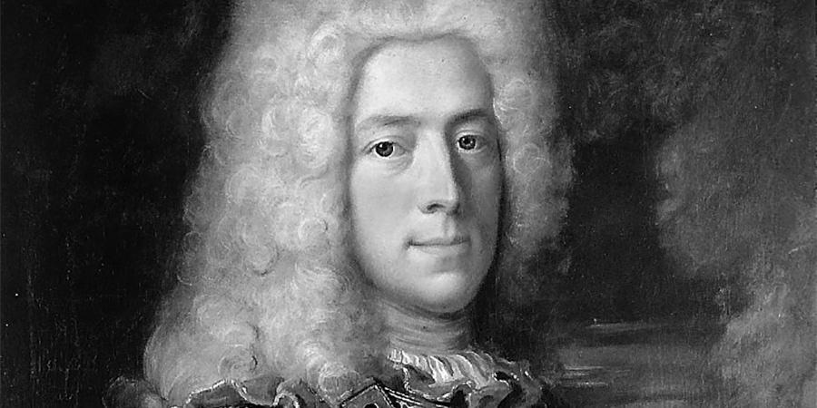 Robert Gardelle, portrait de Jacques-Barthélemy Micheli du Crest, 1721