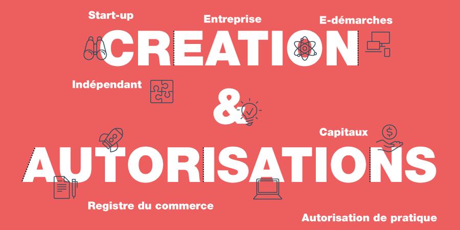 Création & autorisations