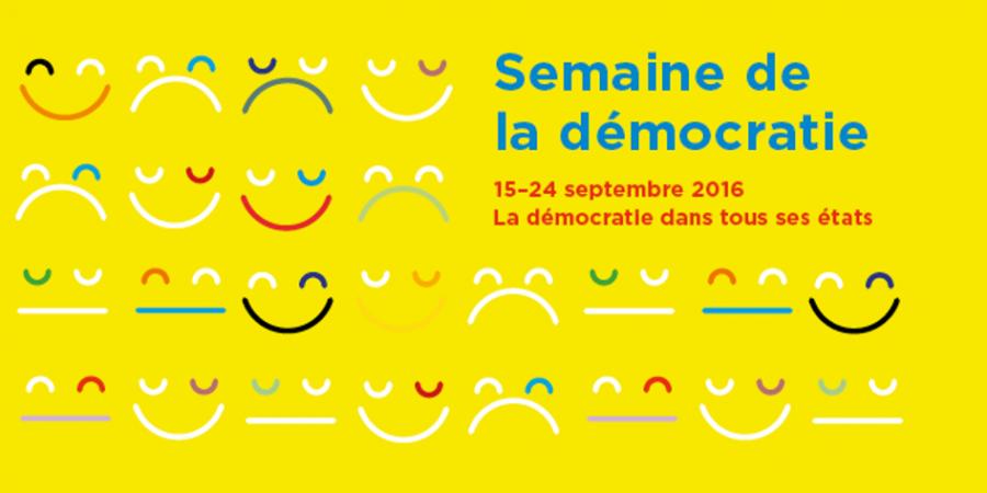 Semaine de la démocratie 2016