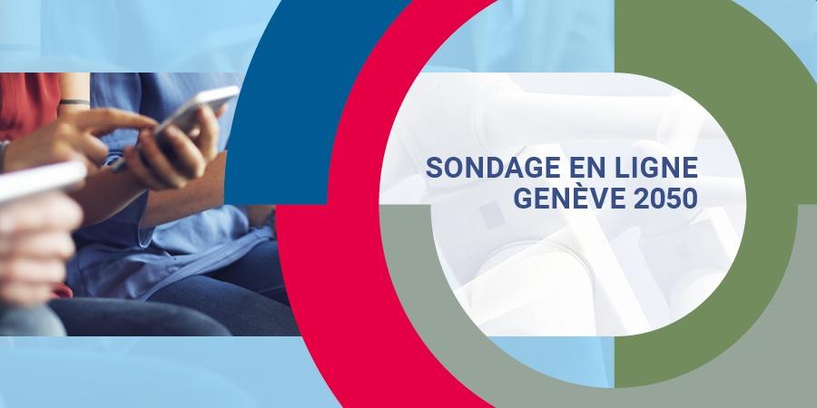Banner sondage en ligne GENÈVE 2050