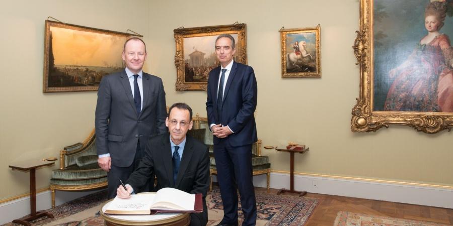 Visite de courtoisie de S.E. Monsieur Evandro Didonet, Ambassadeur de la République fédérative du Brésil en Suisse