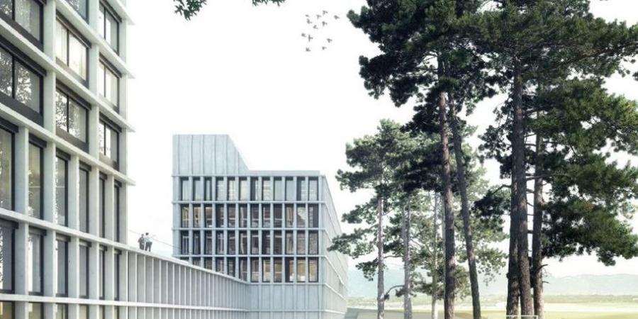 Le futur ensemble se situe sur la commune du Grand-Saconnex