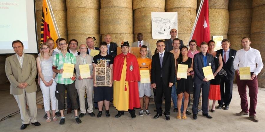 Lauréats - cérémonie de remise des prix