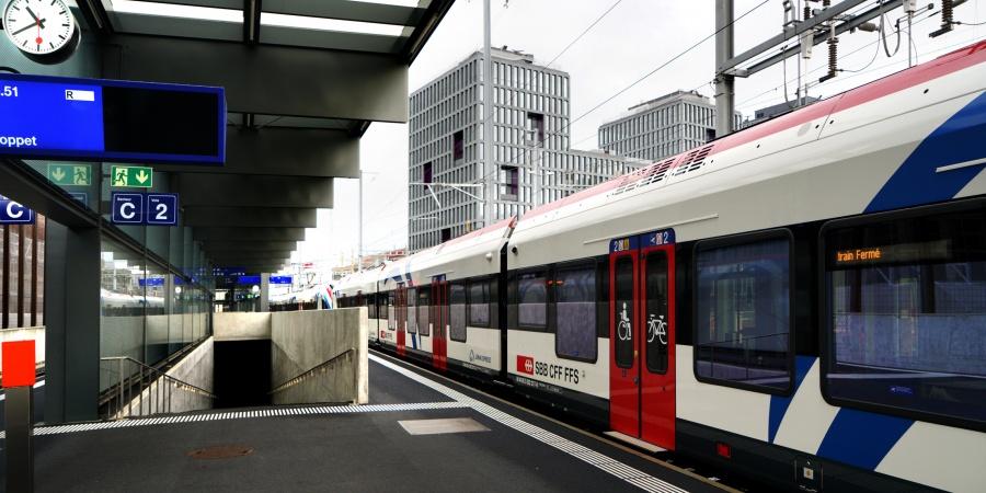 Gare Léman Expresse Lancy-Pont-Rouge
