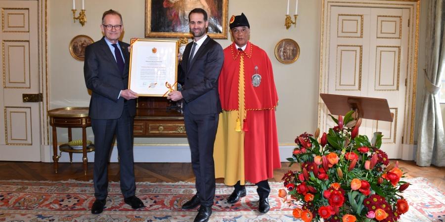 Remise de la Bourgeoisie d'honneur de Genève à Monsieur Michael Møller, ancien directeur général de l'ONUG