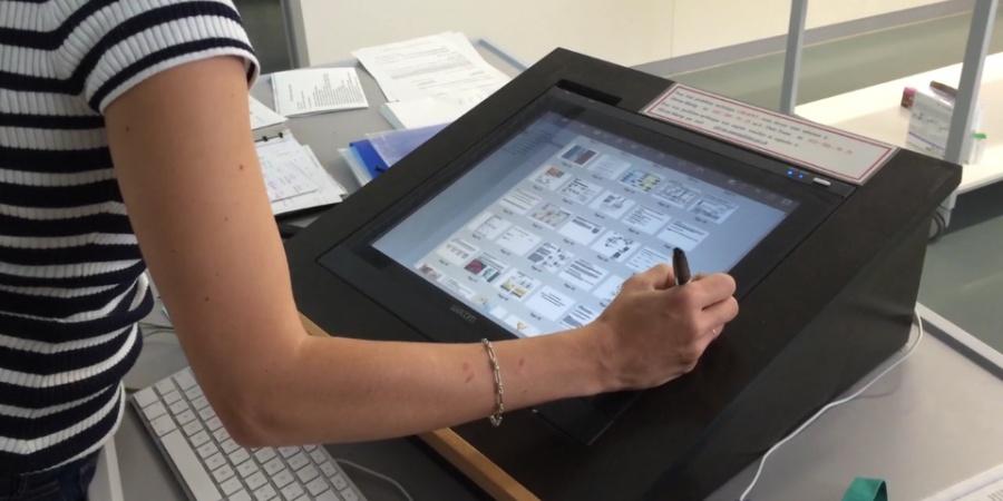 système de projection interactif (SPI) utilisant le logiciel libre OpenBoard