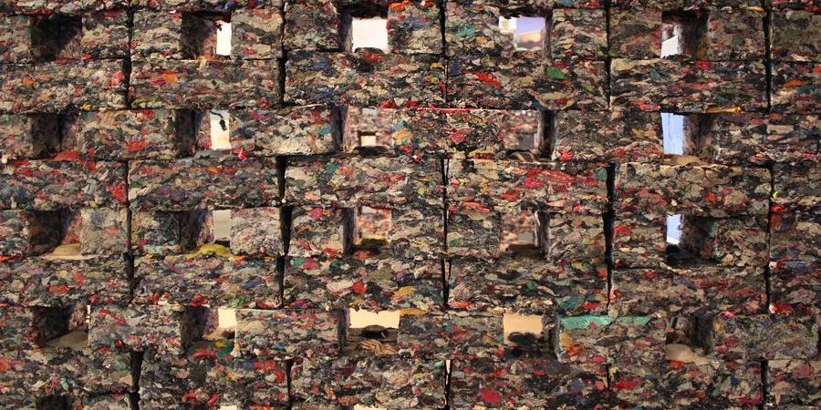 Briques en tissu