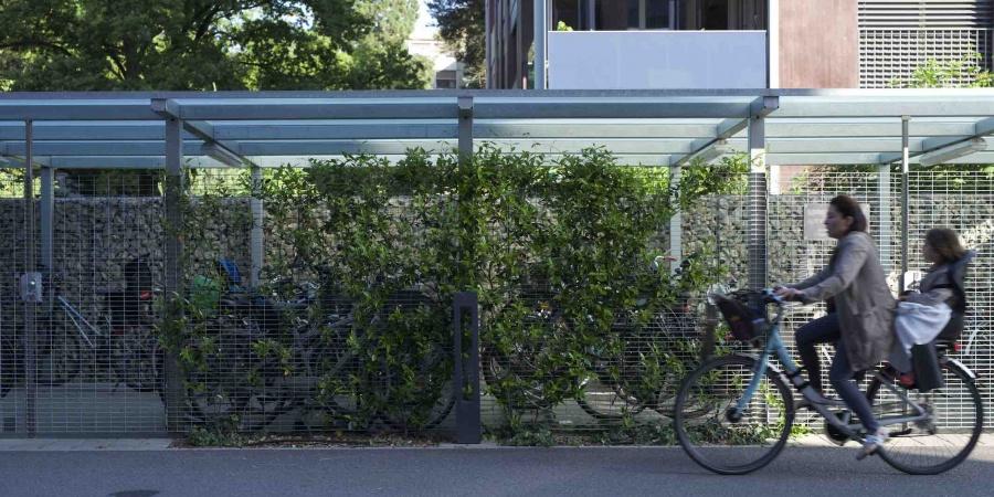 Des aménagements en faveur de la mobilité douce, ici La Florence, un principe pour Cointrin © De Limoges