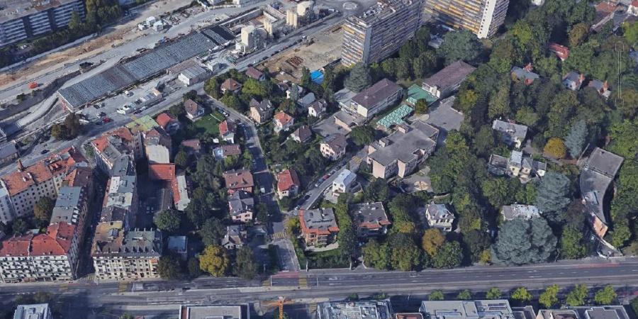 Plan localisé de quartier Godefroy