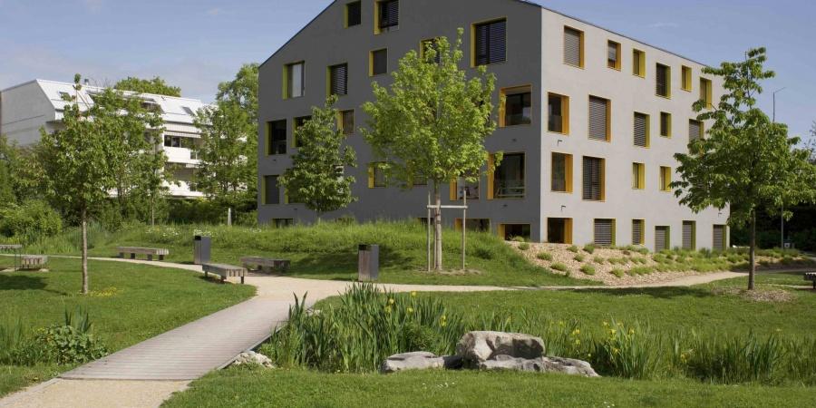 Des gabarits et une architecture diversifiés, ici Bellevue, un principe pour Cointrin  © De Limoges