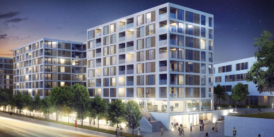 Développement secteur avenue de l'Ain (concours jugé 2014)