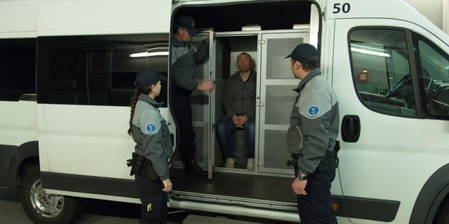 ASP, transport détenus