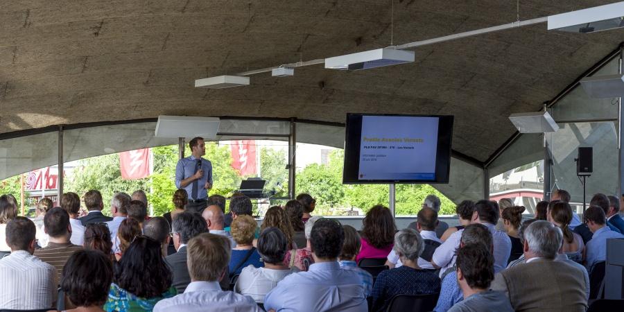Séance d'information publique sur le PLQ Les Vernets © Etat de Genève