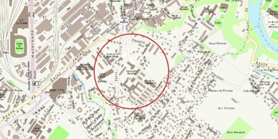Localisation Battelle-Tambourine