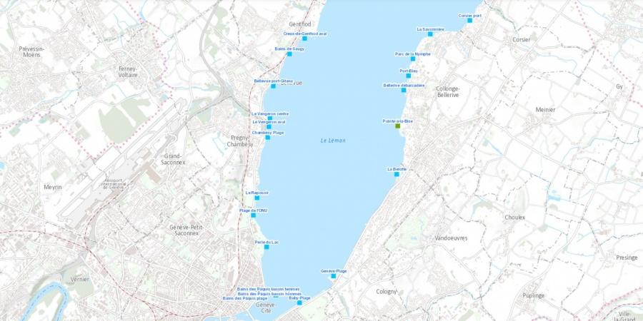 Résultat des analyses de qualité de l'eau des plages