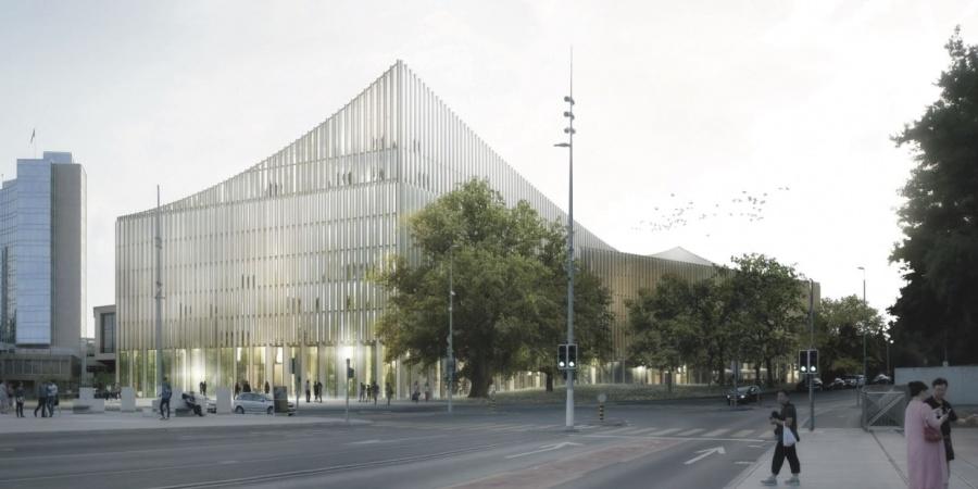 Future Cité de la Musique / Coût : 260 mio CHF / Réalisation 2020-2022 /  © FCMG