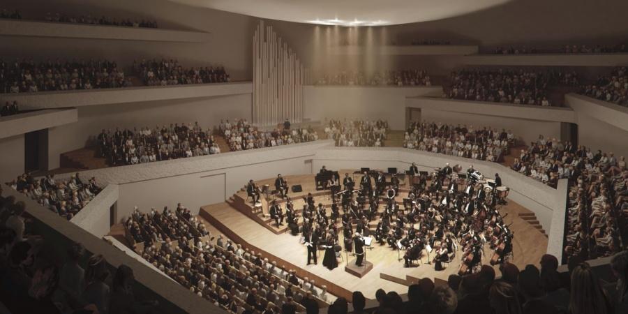 Vue intérieure de la salle philharmonique / © FCMG