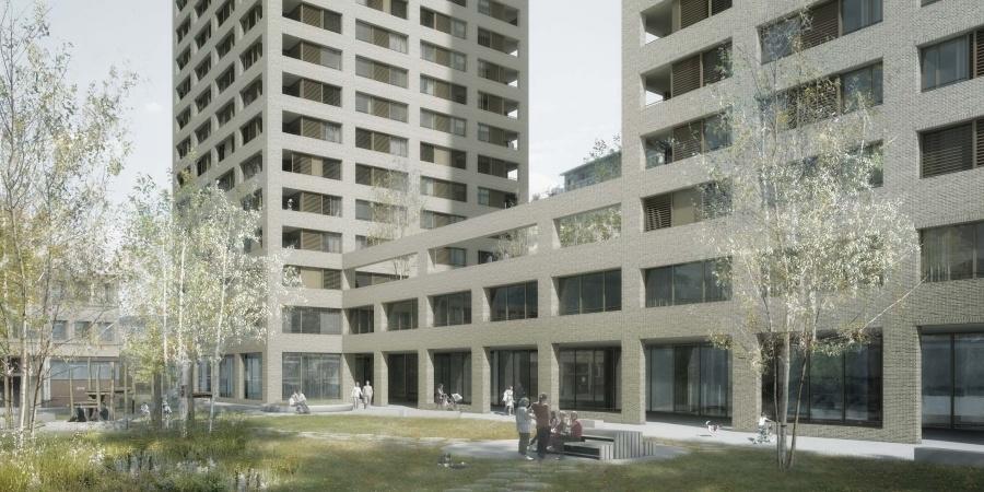 Concours de la Marbrerie © Castor&Pollux - CLR Architectes SA