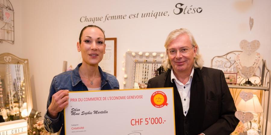 Prix du commerce - 1er prix de la créativité