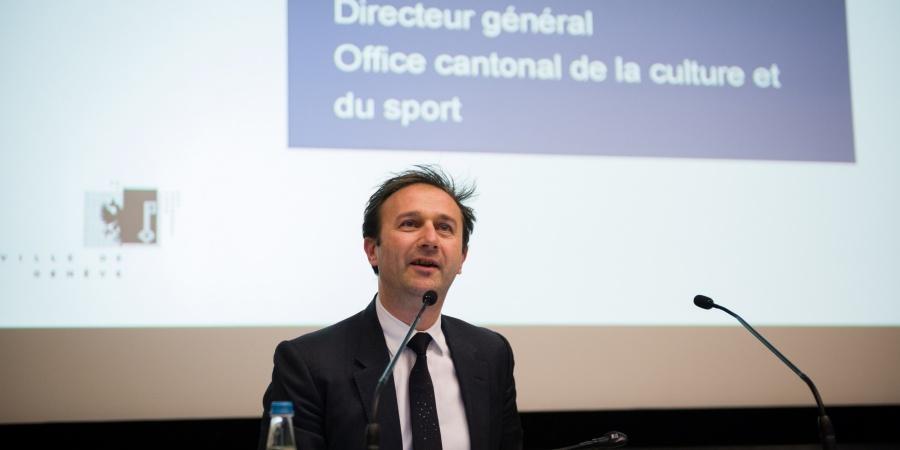 Pierre-Alain Hug, directeur général de l'office cantonal de la culture et du sport