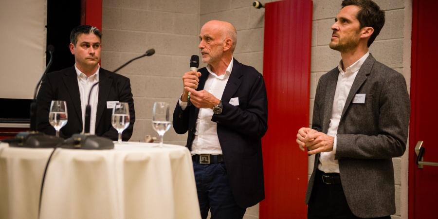 Jerry Maspoli, Yves Mittaz et Julien Finkbeiner