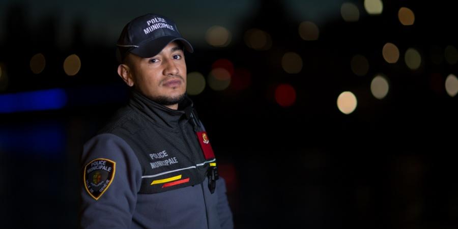 Patrouille de nuit police municipale