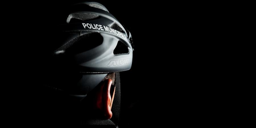 Casque vélo police municipale