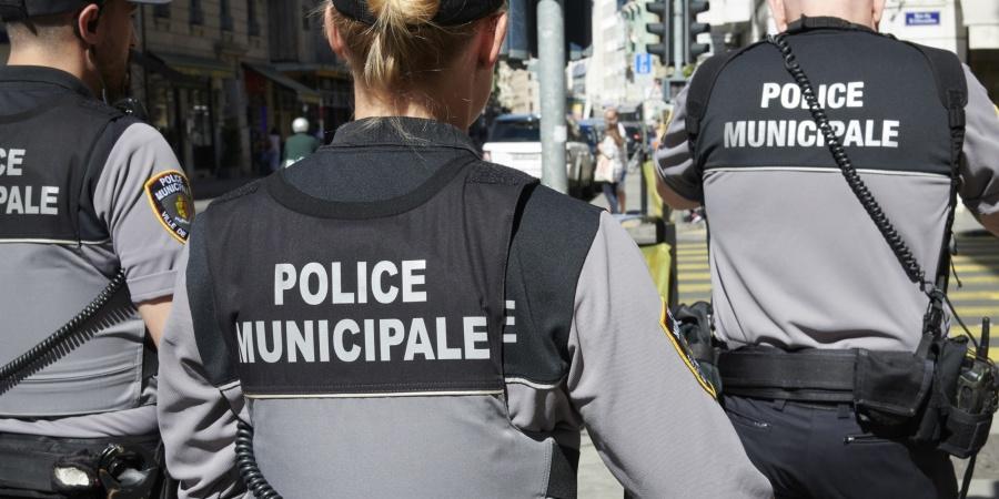 Patrouille pédestre police municipale