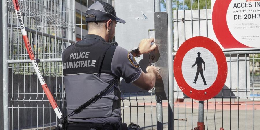 Fermeture accès police municipale