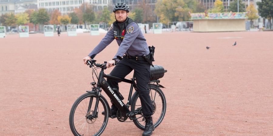 Vélo police municipale