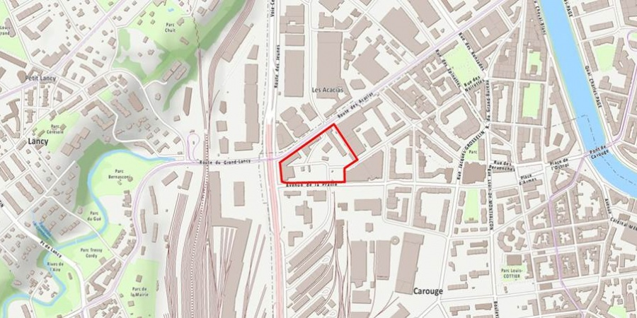 Plan de localisation Etoile 1
