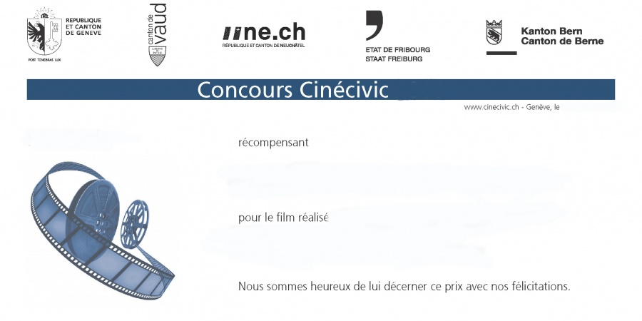 Diplôme CinéCivic 2016
